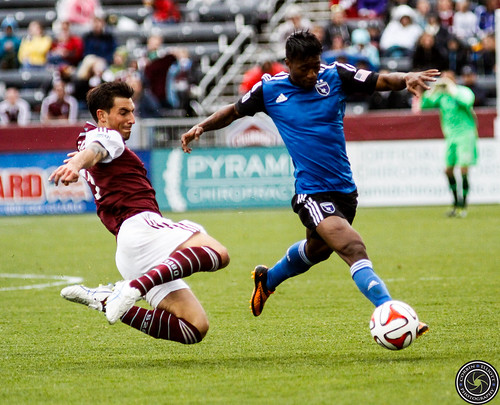 Thomas Piermayr, Colorado Rapids vs San Jose Earth Quakes, Denver Sports Photographer, Photographer Denver