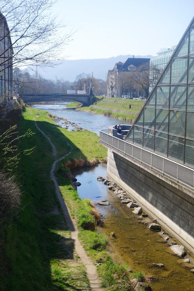 Hotel Helvetia Zurich river view