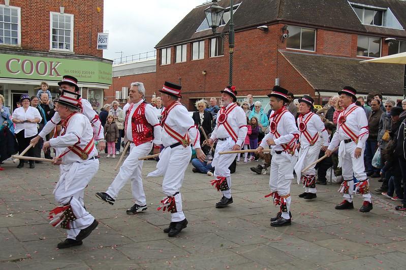 Morris Dancing & Pentacle Drummers