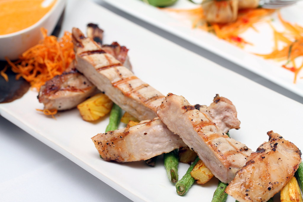 Tamarind Hill Restaurant: Grilled Pork Chop