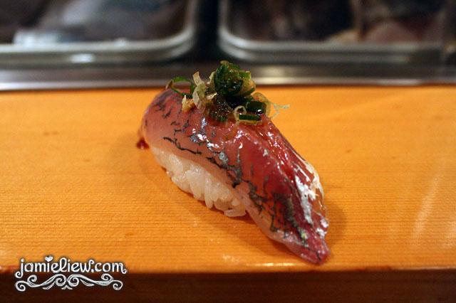 sushi dai aji spanish mackerel