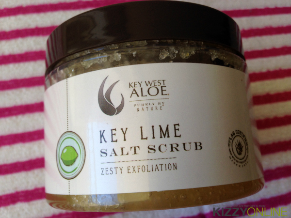 Key West Aloe Vera Dead Sea Salt Scrub Moisturizing Lotion Lime