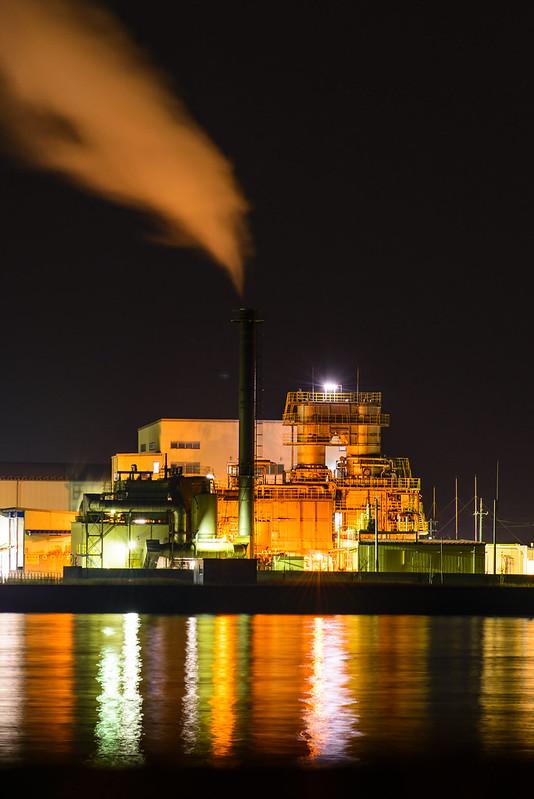 産業廃棄物処理工場