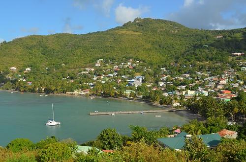 sea mer beach landscape boat nikon village caribbean bateau plage caraïbes saintelucie saintlucia laborie nikon1855mmf3556 nikond5100