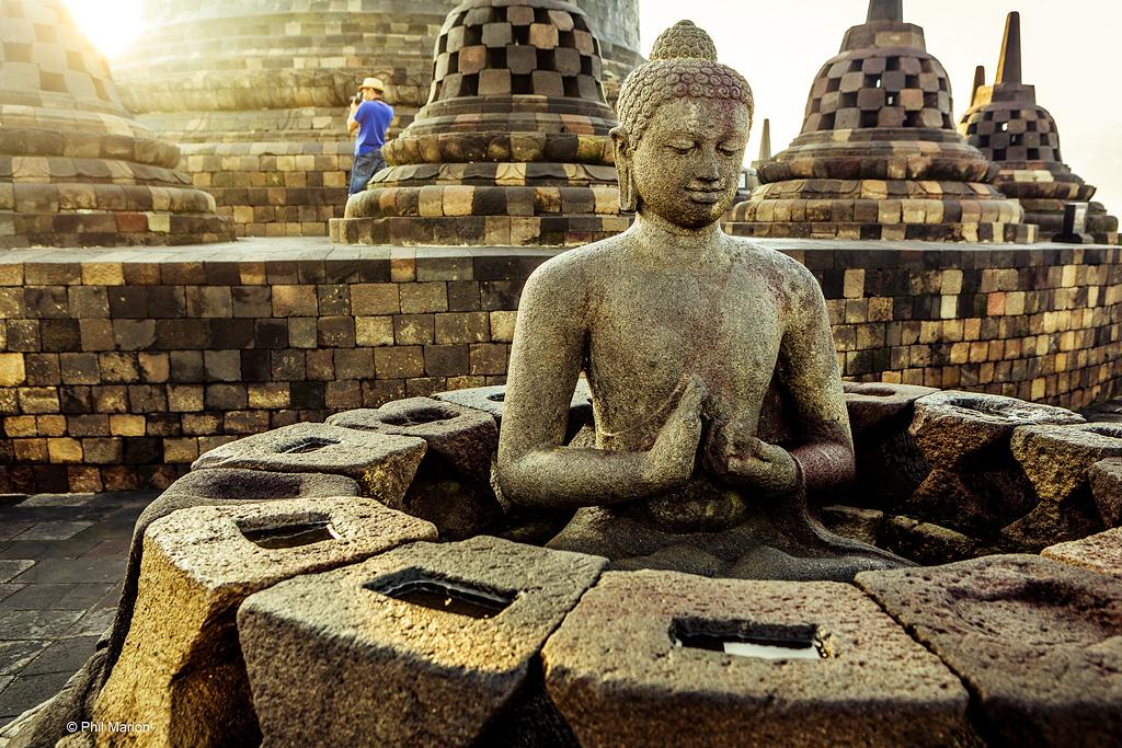 Borodubur Temple - Yogyakarta, Java Indonesia