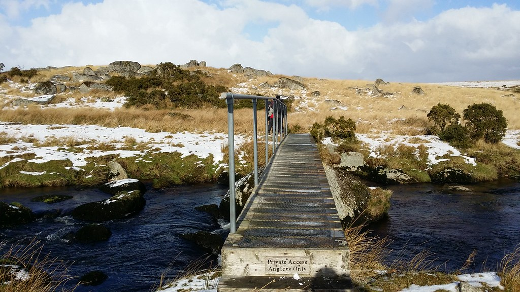First Crossing of the Black Brook River #sh #dartmoor