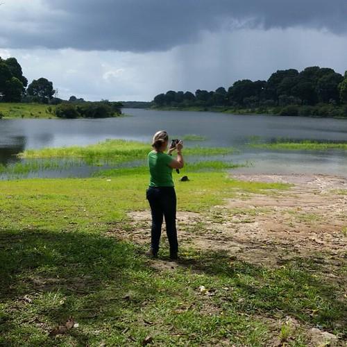 Trabalhar no paraíso tem suas vantagens... Bom dia!! #MeuAmazonas  #Work #Urucara