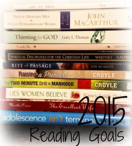 Reading Goals 2015