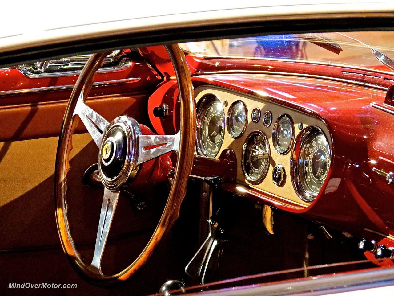 1953 Ferrari 250 Europa Coupe Interior
