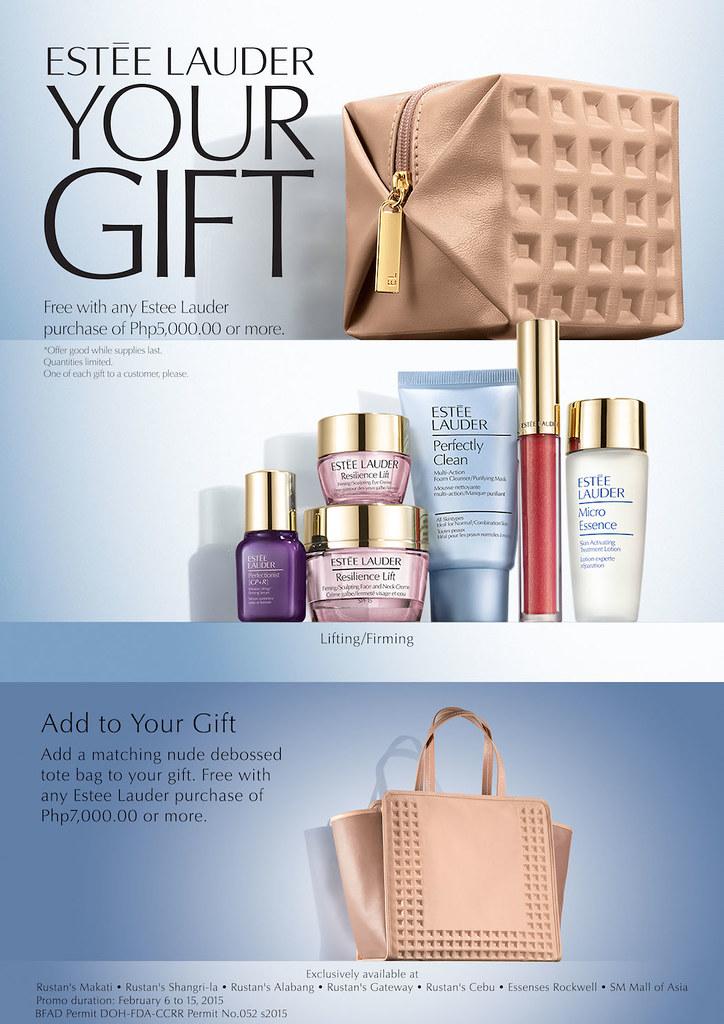 Valentine's Day Gift Idea: Estee Lauder Your Gift - Lush Angel