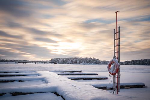longexposure winter sun snow ice kuopio nd1000