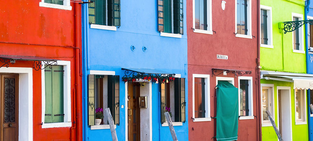 I colori di Burano