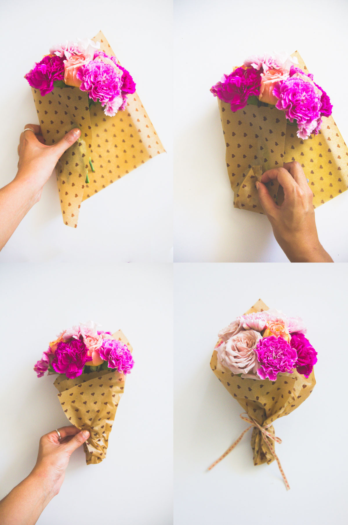 How to Wrap Flowers — Lime Tree Bower