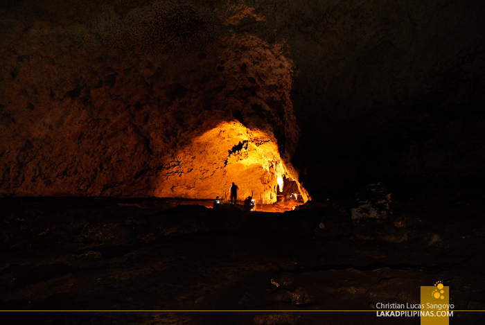 Chamber One in Aglipay Caves, Quirino Province