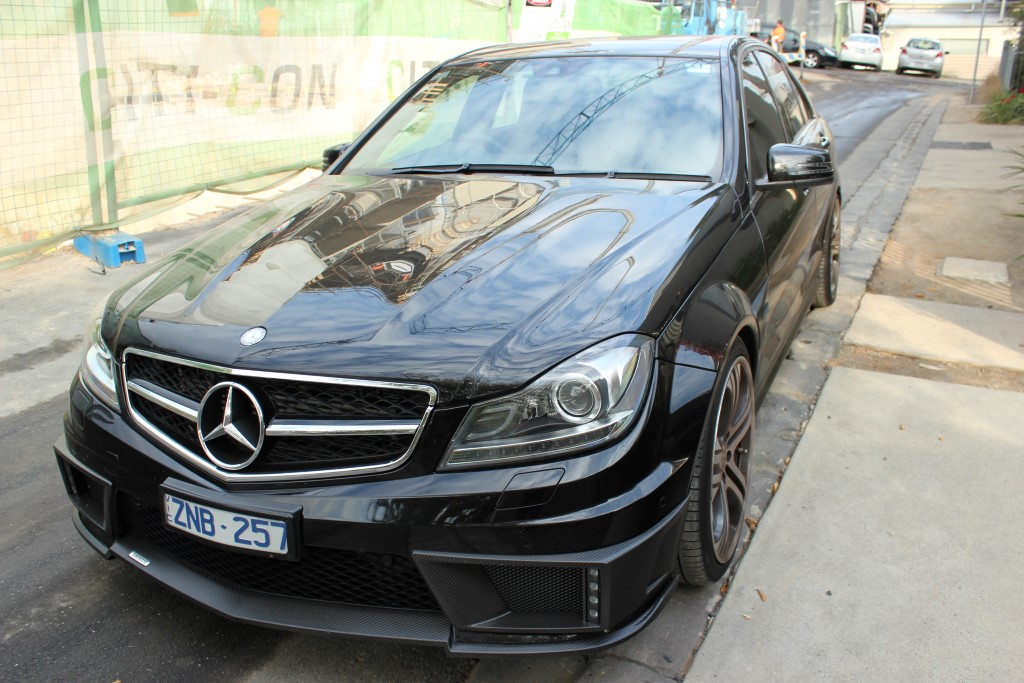 2013 Mercedes Benz C63 Amg Brabus Edition B63s Black Car