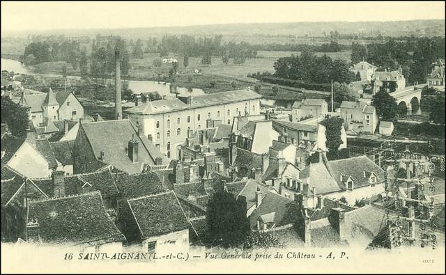 4882 R Saint-Aignan-sur-Cher Saint-Aignan (Loir-et-Cher) - Vue générale prise du Château - A. P.