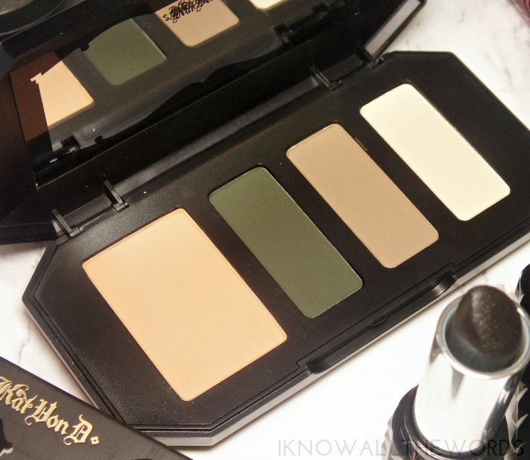 kat von d shade + light eye contour palette in sage (5)