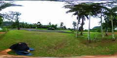 An eastern view of Olomana from deep inside Waimanalo- A 360 degree Equirectangular VR