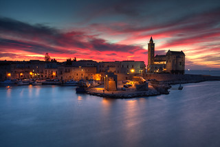 Trani at Sunset