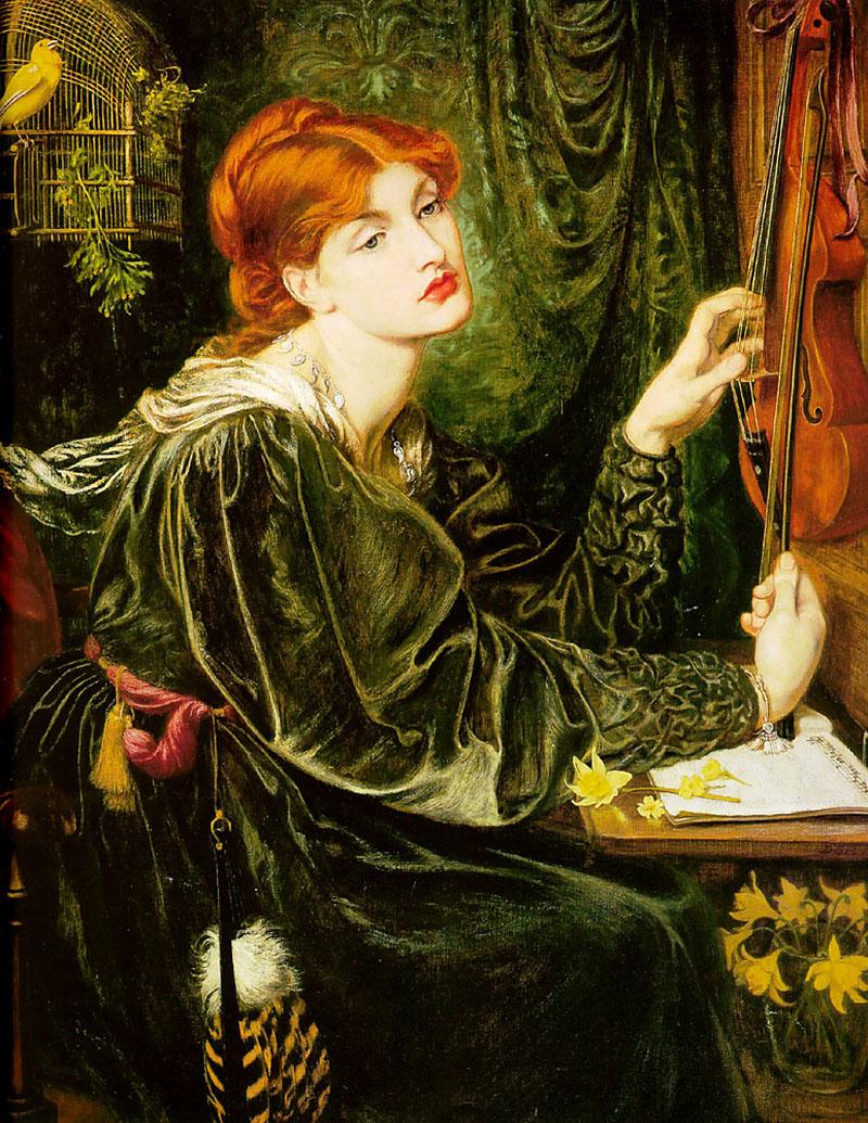 Veronica Veronese by Dante Gabriel Rossetti - 1872