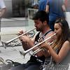 San Sebastian / Donostia. Musica en la calle (18). Trompetas.
