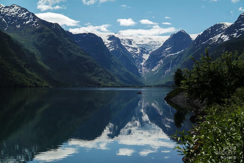 Nordfjord, el sexto fiordo más largo de Noruega