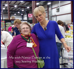 Me with Nancy Zieman
