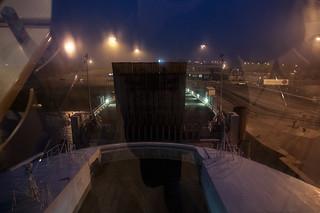 Départ du terminal ferry de Dunkerque