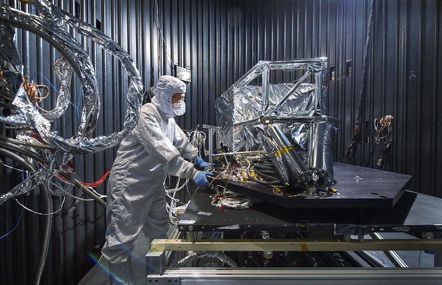 NASA Testing the Webb Telescope's MIRI Thermal Shield