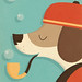 A Dog's Life by Zara Picken Illustration