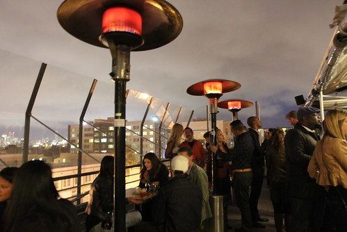View from El Techo de Lolinda - Lolinda Roof Launch Party
