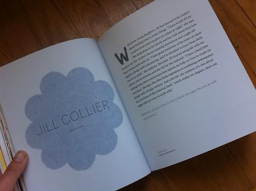 Jill Collier's page in So Pretty! Felt