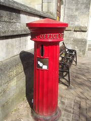 Photo of Pillar Box brushed metal plaque