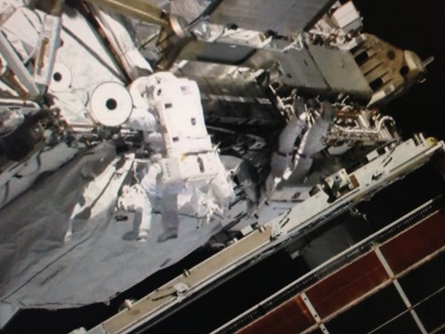 Spacewalk ISS