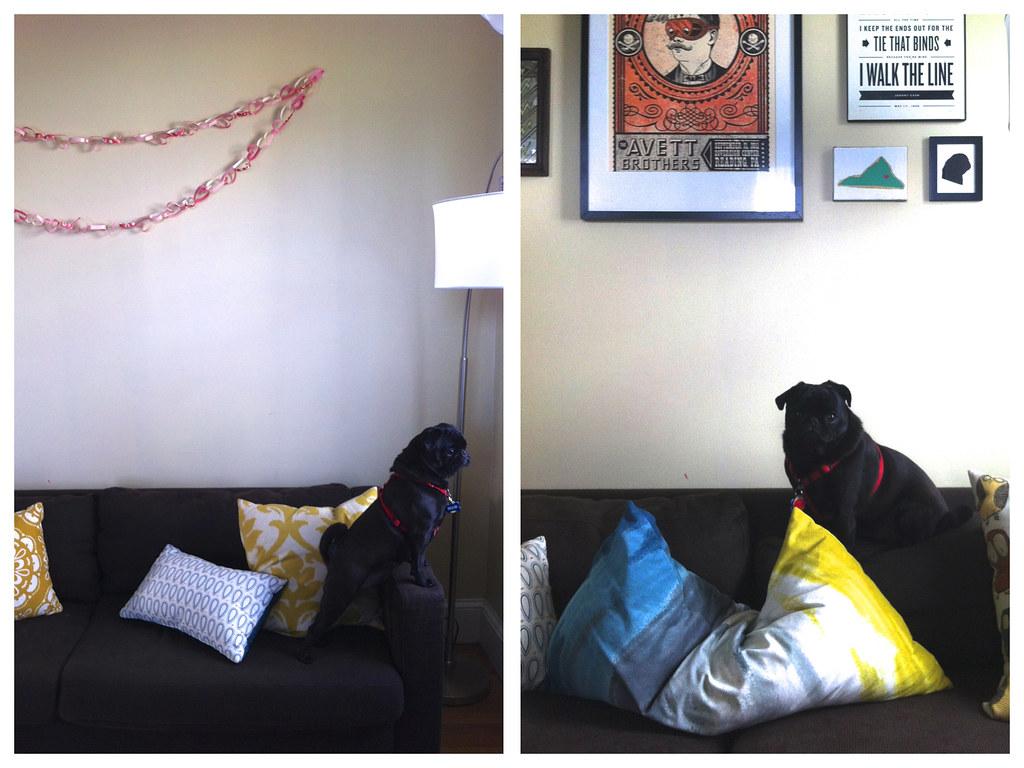 Art Wall side-by-side