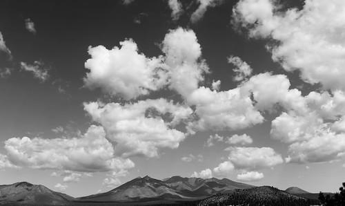 arizona doneypark dookooosłííd flagstaff landscape northcountry nuvatukyaovi sanfranciscopeaks clouds cloudscape panorama dook'o'oosłííd nuvatukya'ovi wimunkwa flickr