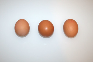 11 - Zutat Eier / Ingredient eggs