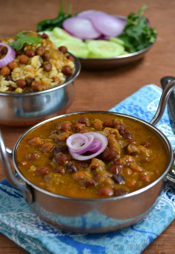Punjabi Kala Chana Masala Chole Recipe
