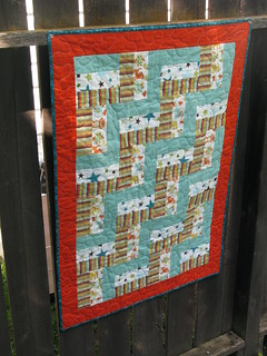 flannel rail fence quilt