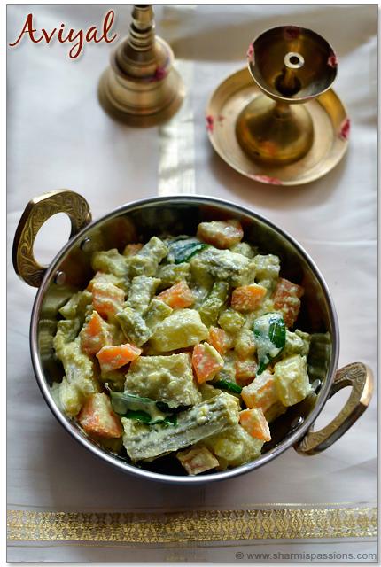 Kerala Aviyal Recipe
