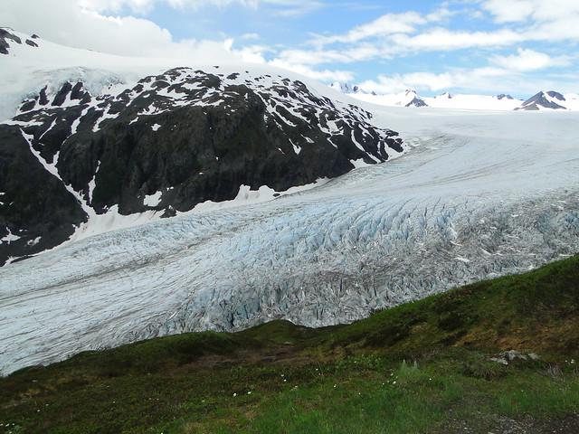 Parque Nacional de los Fiordos de Kenai. Alaska. Campo de hielo de Harding.