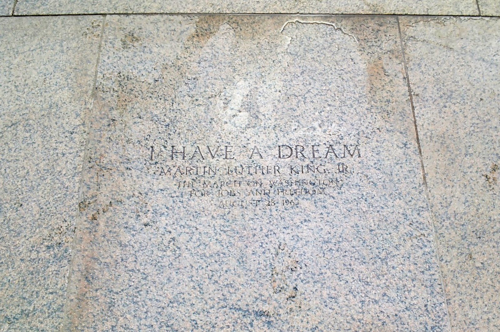 "Lincoln Memorial - ""I Have a Dream"" Throughglass 27268"