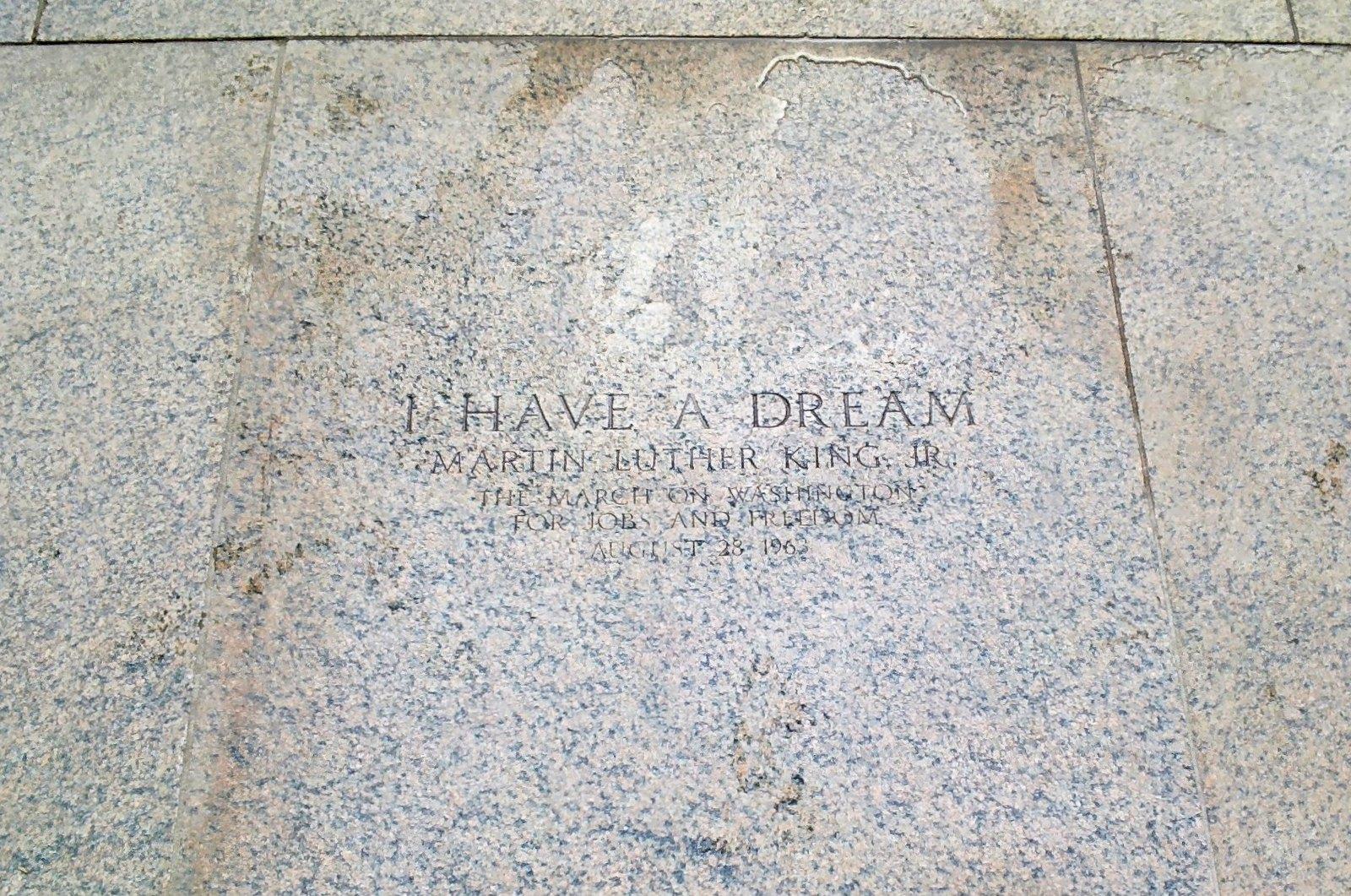 """Lincoln Memorial - """"I Have a Dream"""" Throughglass 27268"""