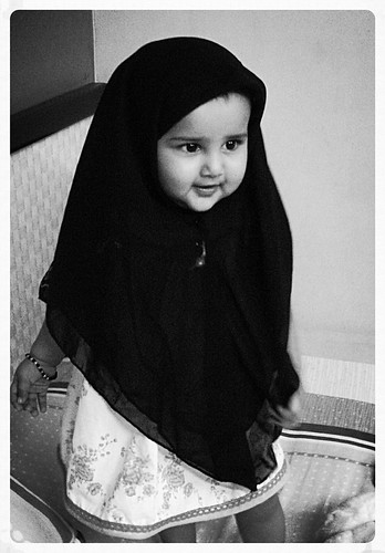 Marziya's First Ramzan 9 Month Old by firoze shakir photographerno1