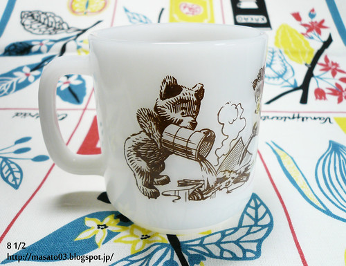 Glasbake Smokey The Bear Mug 4