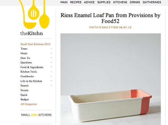 Provisions in the News on Food52