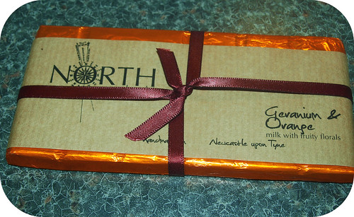 North Chocolates Orange & Geranium
