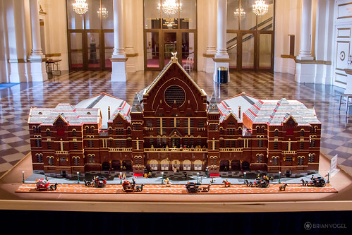 Cincinnati Music Hall in Lego