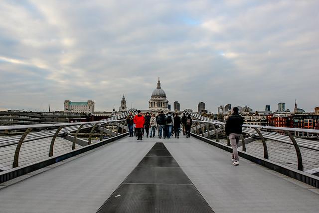 Millennium Bridge de Londres