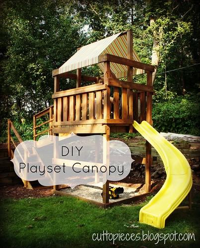 Diy Playset Canopy Angela Pingel